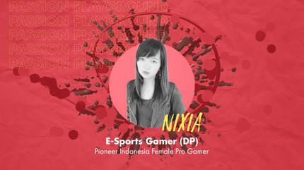 E-Sports Gamer (DP) with Nixia