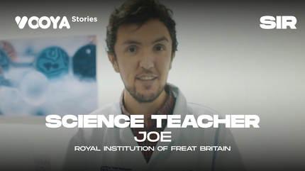 Science Teacher with Joe
