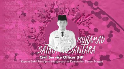 Civil Service Officer (HP) with Jiwa Muhamad Satria Nusantara