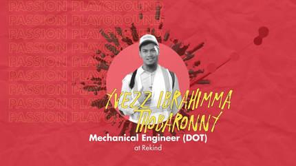 Mechanical Engineer (DOT) with Yvezz Ibrahimma Thobaronny