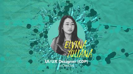 UI/UX Designer (CDP) with Elvina Yuliana