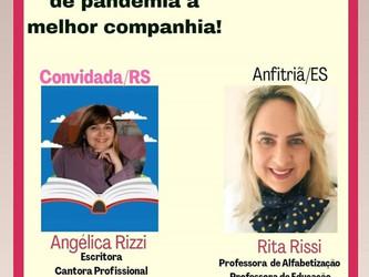 Angélica Rizzi é a convidada em Live de professora e psicopedagoga do Espírito Santo