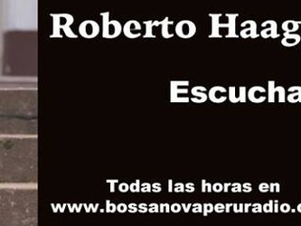 Roberto Haag é o artista da semana em rádio do Peru