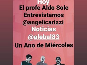 Angélica Rizzi participa de programa em rádio do Uruguai