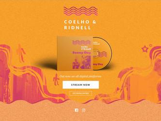 Sonoridades desta quarta traz entrevista com o duo Coelho & Ridnell