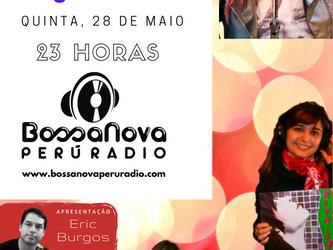 Angélica Rizzi participa hoje ao vivo de programa na www.bossanovaperuradio.com