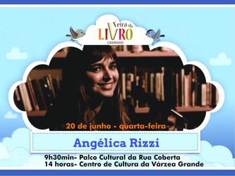 Angélica Rizzi participa da Feira do Livro de Gramado