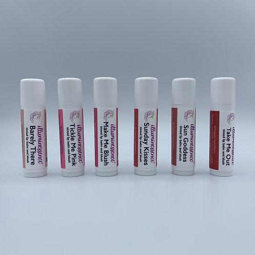 Tinted Lip Balms & Blush