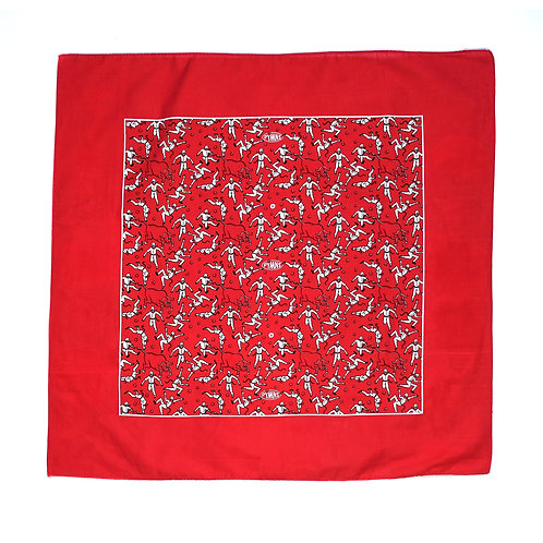 RUNNING OF THE MEN BANDANA