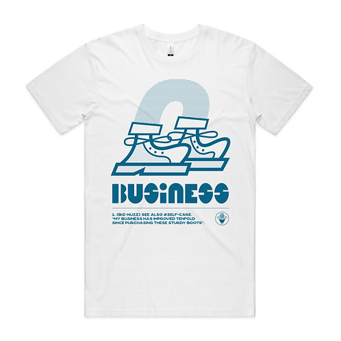 BUSINESS T-SHIRT + FREE STICKERS