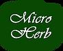 Micro Herb grinder logo