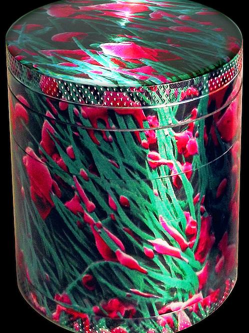 Micro Herb grinder XL: 2.5 x 2.75 inch