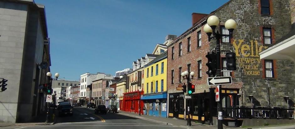 Walmart and Downtown Saint John's