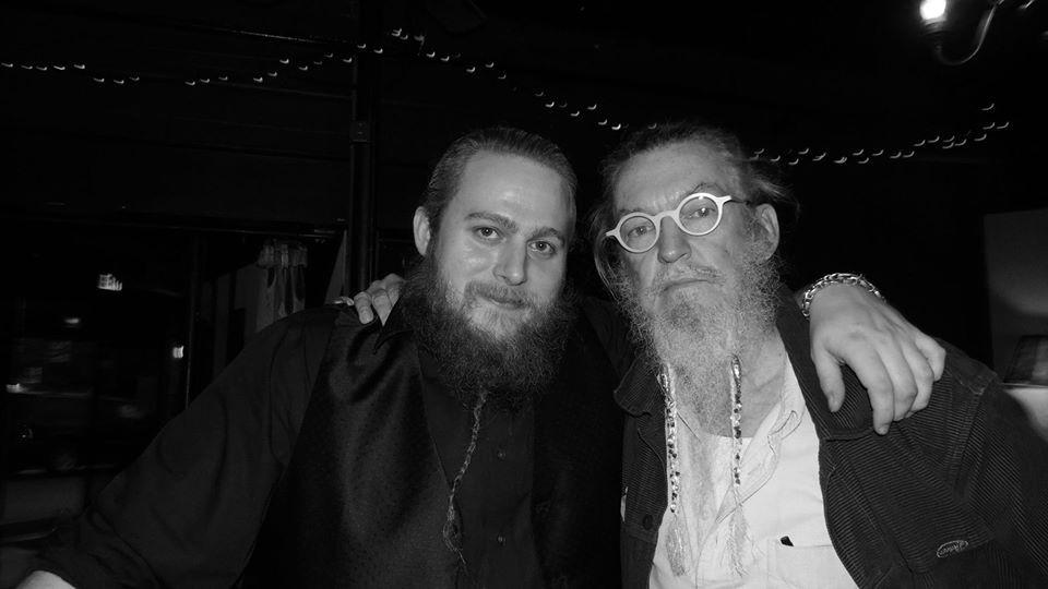 Clayton Luce with Ron Whitehead