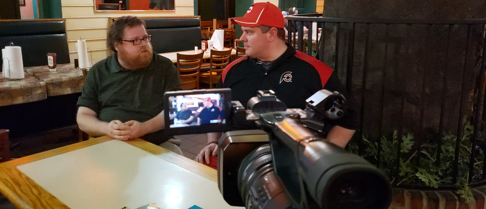 Host Tyler Brown interviews famed compet
