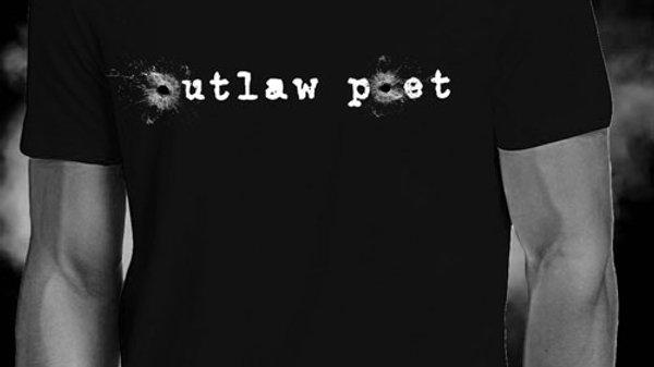 Outlaw Poet tee shirt