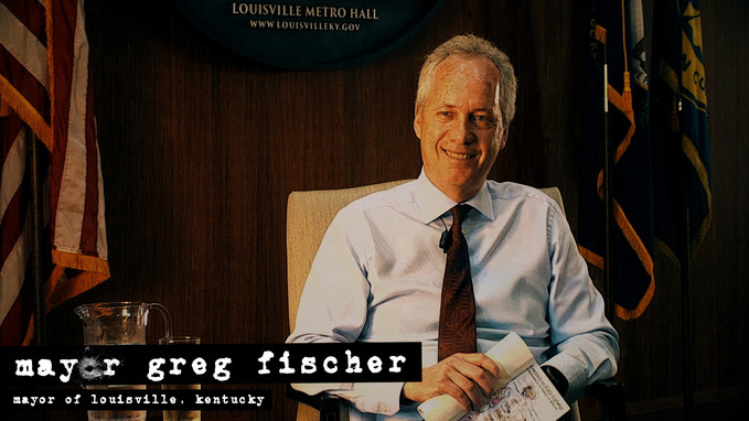 Interviewing Mayor Greg Fischer for Outl