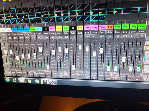 Multitrack Audio Mixing and Recording