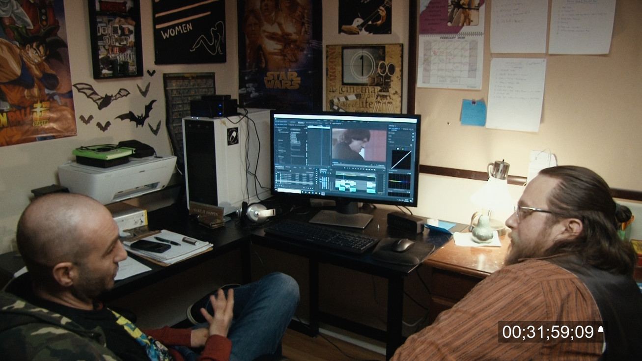 Discussing behind the scenes editing wit