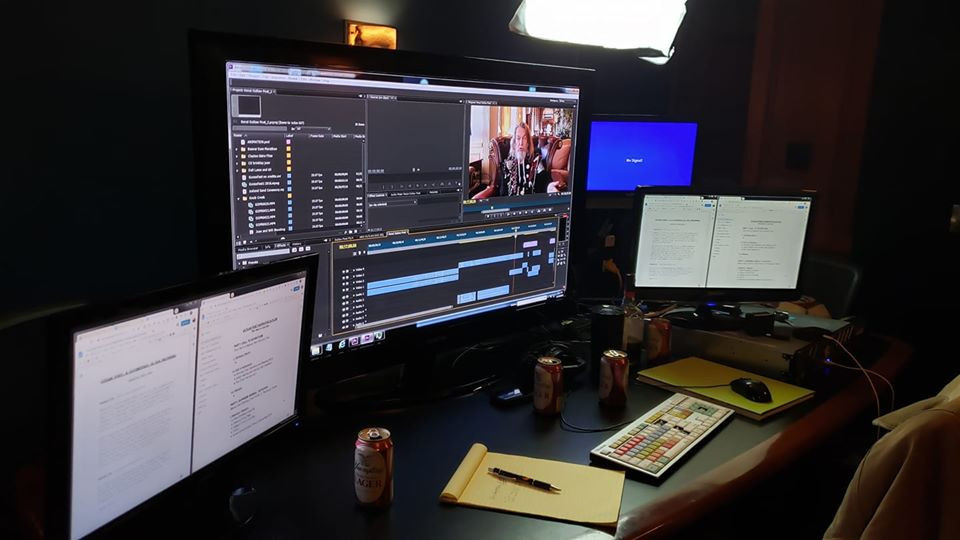 Editing Studio for Outlaw Poet
