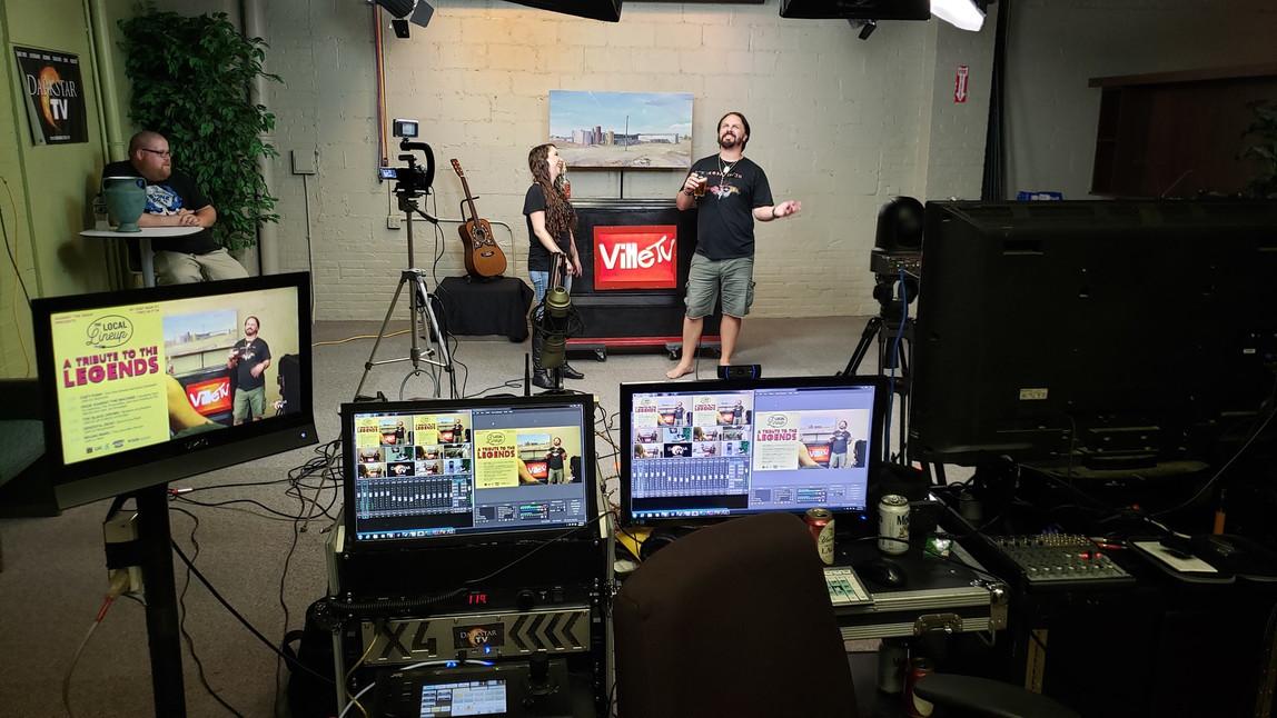Old VilleTV Set