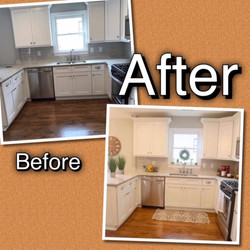 Before and After Kitchen
