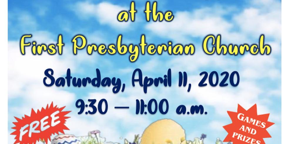 Easter Egg Hunt - Saturday, April 11
