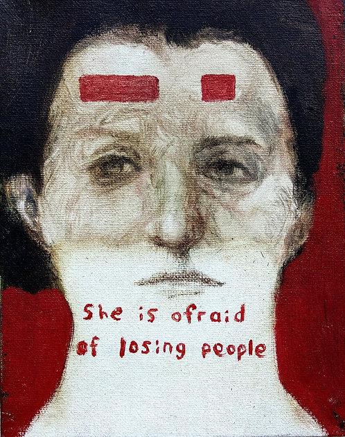 Rita Khachaturian, She is Afraid of Losing People, 2018