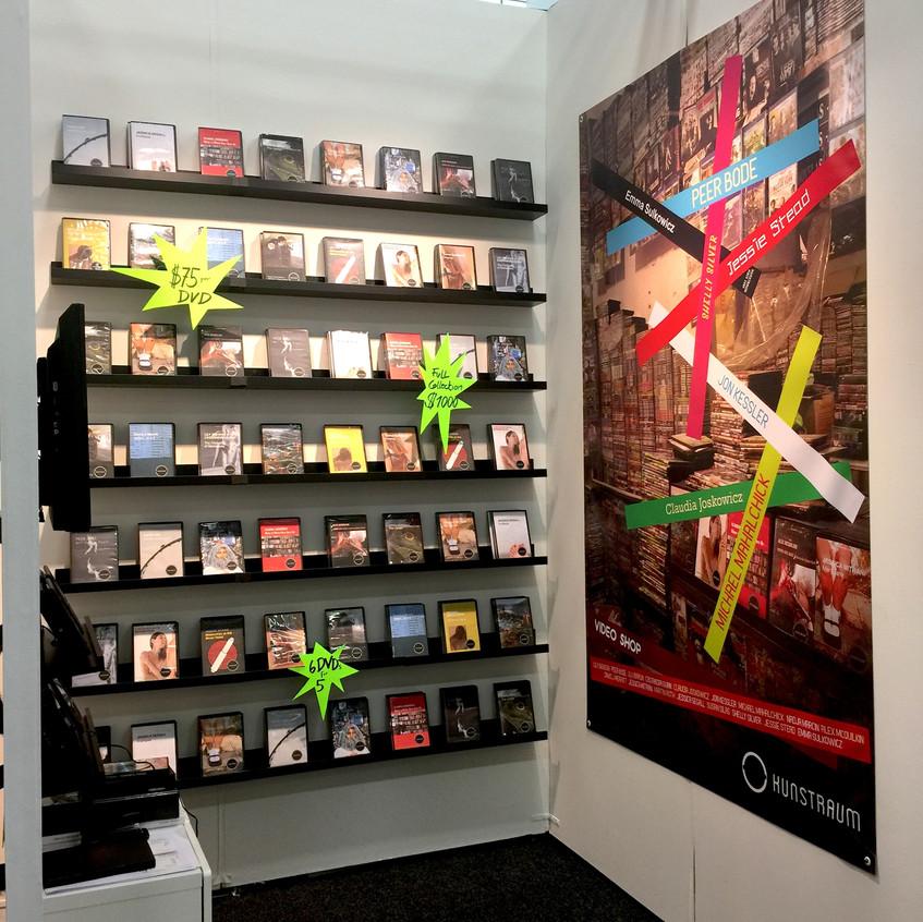 Video Shop Installation at NADA