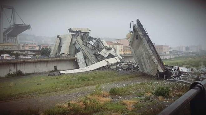 Genoa Bridge collapse 14th August 2018