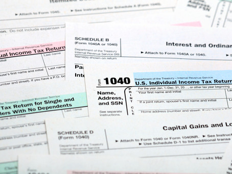 Cheat Sheet for Your Tax Documents