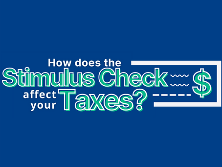 The Stimulus Check and Your Taxes