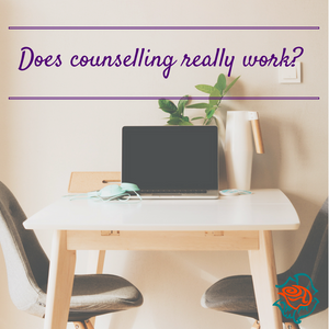 does counselling really work - laptop on table