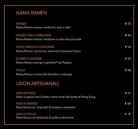 nama ramen and udon