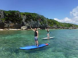 沖縄,SUP体験,北部,やんばる,スタンドアップパドル,サーフィン,今帰仁,屋我地島,古宇利島,初心者