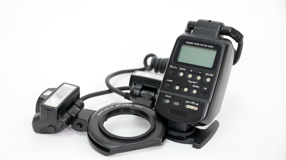 S/H Canon MR-24EX Macro Flash