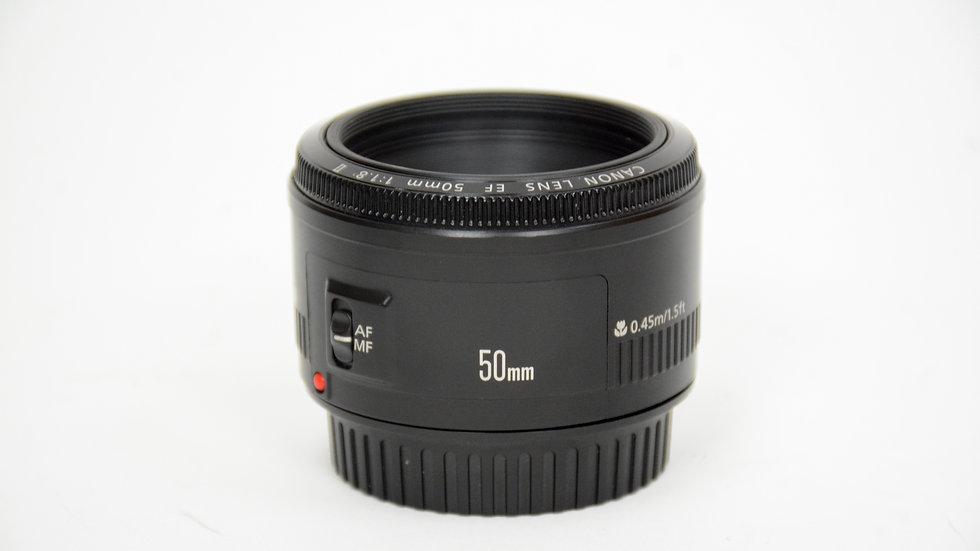 S/H Canon EF 50mm F/1.8 ii