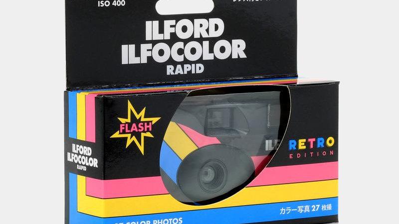 Ilford Ilfocolour Rapid Single Use Camera