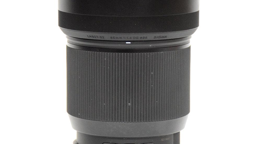 S/H Sigma 85mm F/1.4 ART (EF)