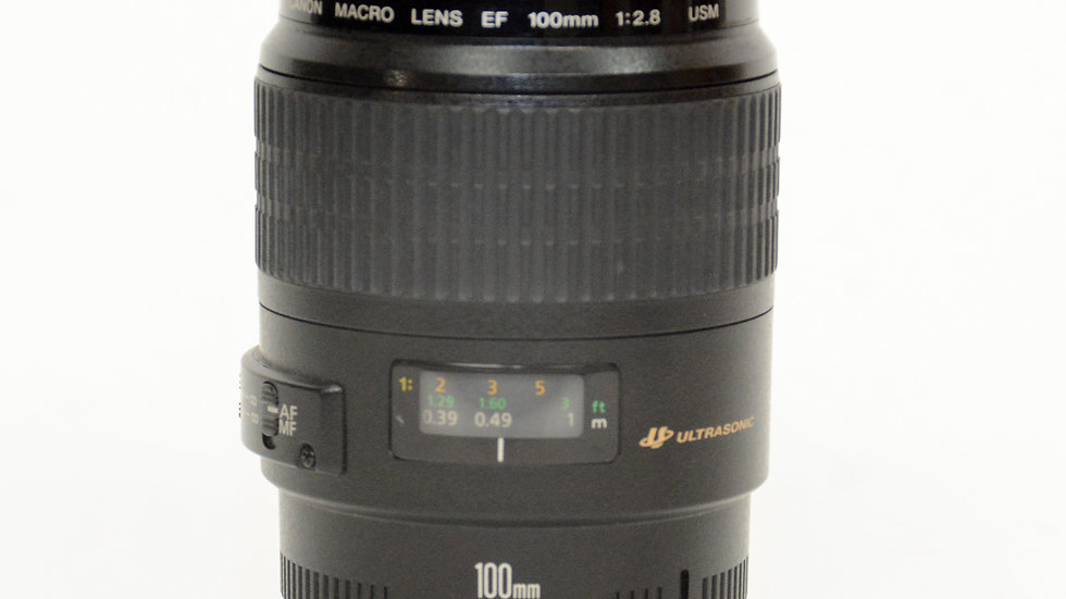 S/H Canon 100mm F/2.8 USM Macro