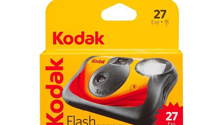 Kodak Flash 27exp Single Use Camera