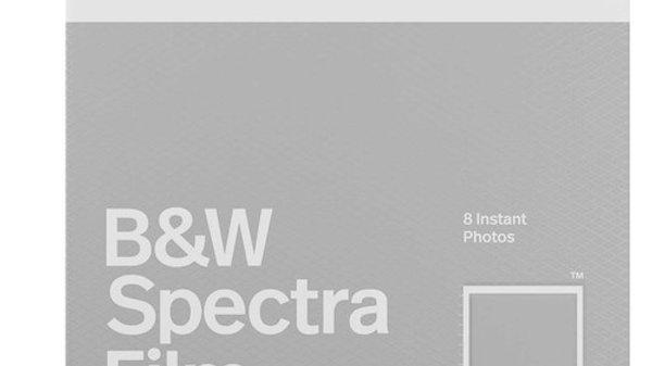 Polaroid Spectra B&W Film