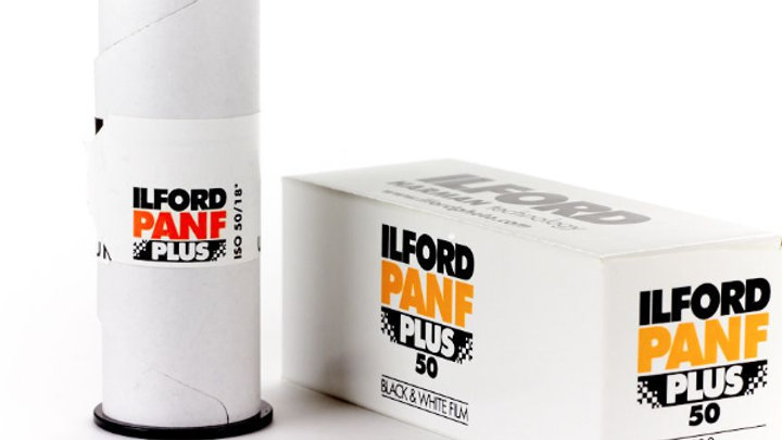 Ilford Pan F Plus 50 120