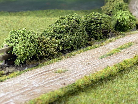 Roads and Hedges by Take Cover Scenics