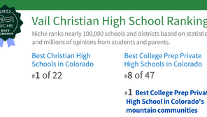 Best Christian High School in CO & Best College Prep Private High School in CO Mountain Communities!