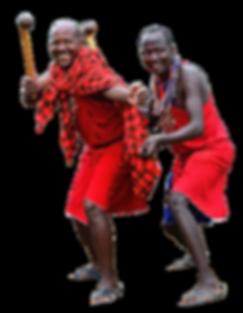 Maasai Warriors_The Maasai are a Nilotic ethnic group inhabiting southern Kenya and northern Tanzania
