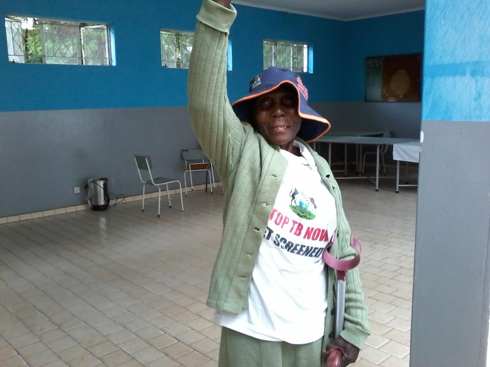 Winner of Tick Tick Boom icebreaker Mbuya Jennifer Nekati