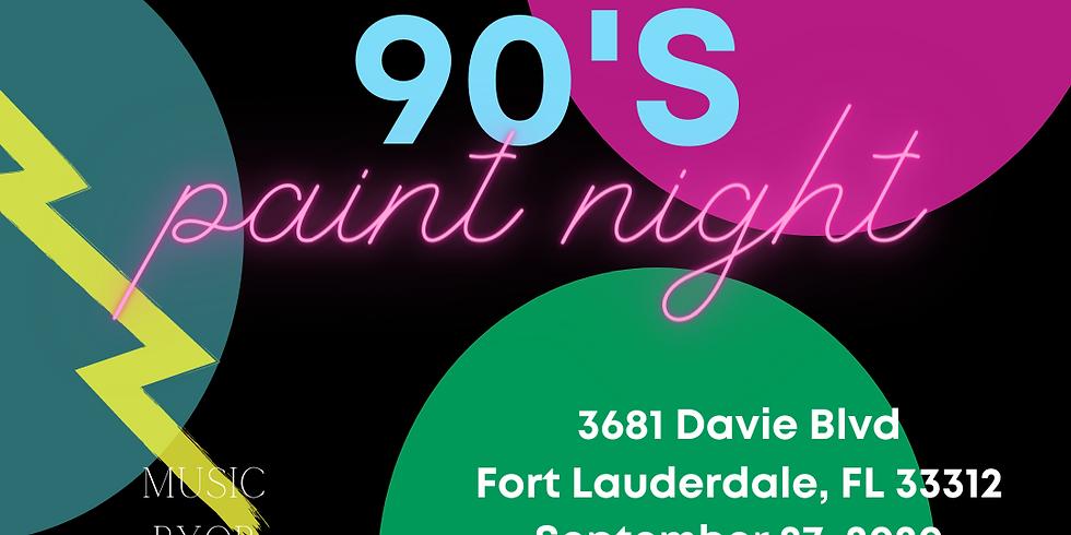 90's Paint Night