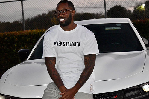 """""""Inked & Educated"""" T-Shirt"""