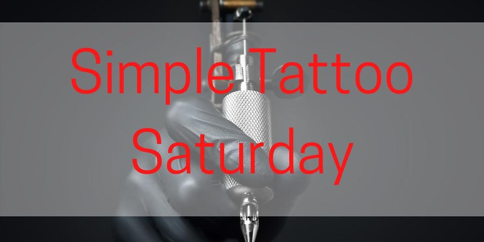 Simple Tattoo Saturday